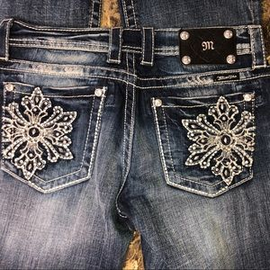 New Miss Me boot cut jeans